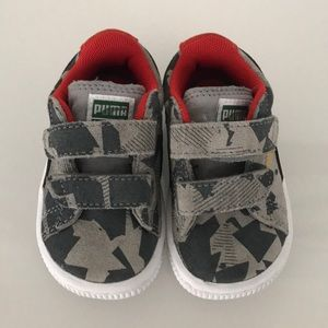 Kids Suede Puma sneakers